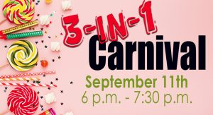 3-in-1 Registration Carnival @ Grace Bible Church Gym