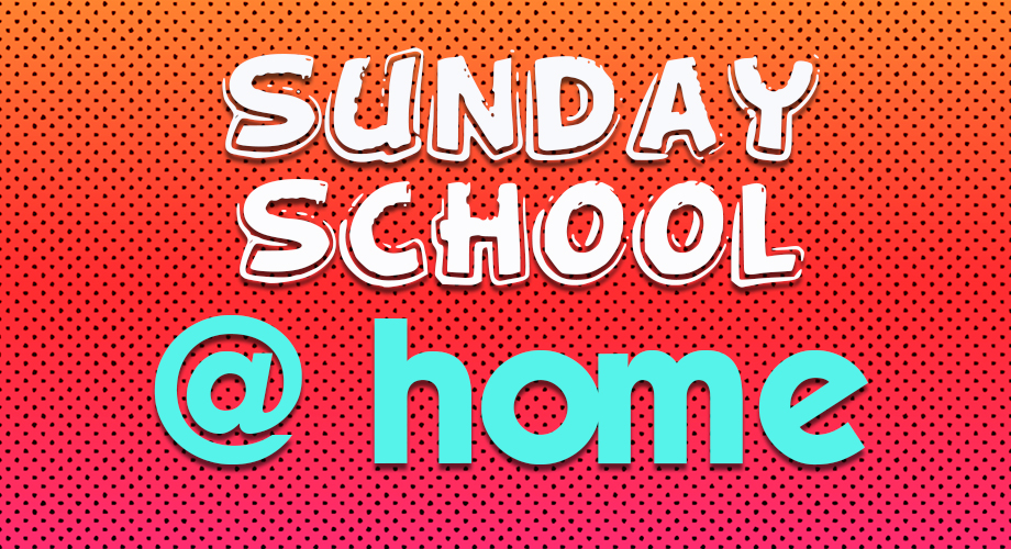 Sunday School at home web